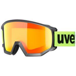 UVEX ATHLETIC CV BLACK MAT/MIR ORANGE/COL YELLOW 21