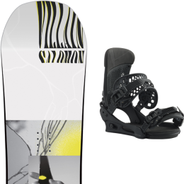 SALOMON THE VILLAIN GROM 20 + BURTON MALAVITA BRACKISH 21
