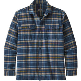 PATAGONIA M'S L/S FJORD FLANNEL SHIRT INDEPENDENCE NEW NAVY 21