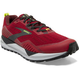 BROOKS CASCADIA 15 SAMBA RED/BRICK/BLACK 20