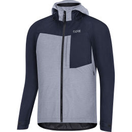 GORE C5 GORE-TEX TRAIL HOODED JACKET ORBIT BLUE 21