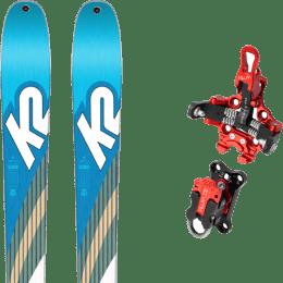 Ski randonnée K2 K2 TALKBACK 88 SMU 22 + PLUM R170 22 - Ekosport