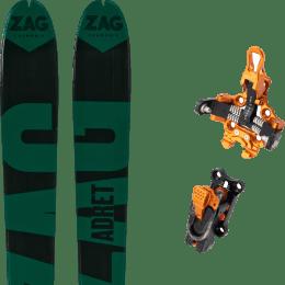 Landing housse ski offerte 2018 ZAG ZAG ADRET 81 20 + PLUM OAZO 8 21 - Ekosport