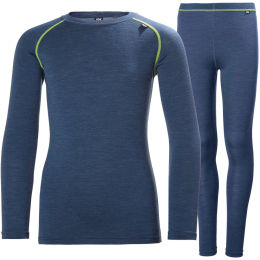 HELLY HANSEN JR HH MERINO MID SET NORTH 21