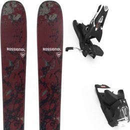 ROSSIGNOL BLACKOPS ESCAPER 21 + LOOK SPX 12 GW B100 BLACK 21