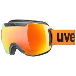 UVEX DOWNHILL 2000 CV BLACK MAT/MIR ORANGE/COL ORANGE 21