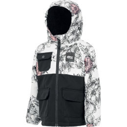 PICTURE SNOWY JKT KIDS PEONIES WHITE 21