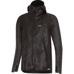 GORE WS GORE-TEX SHAKEDRY HOODED JACKET BLACK 20