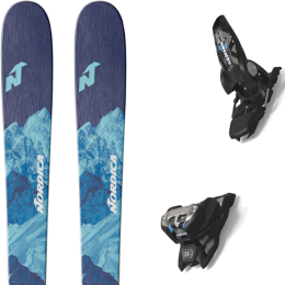 NORDICA ASTRAL 84 21 + MARKER GRIFFON 13 ID BLACK 20