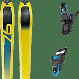 Ski randonnée DYNAFIT DYNAFIT SPEED 76 20 + SALOMON S/LAB SHIFT MNC 13 N BLACK/BLUE SH90 22 - Ekosport