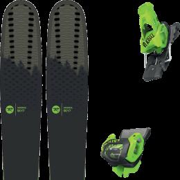 Pack ski alpin ROSSIGNOL ROSSIGNOL SKY 7 HD 20 + TYROLIA ATTACK² 13 GW BRAKE 110 [A] GREEN 20 - Ekosport