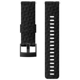 SUUNTO 24 EXP1 SILICONE STRAP BLACK/BLACK 19