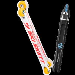 SKI SKETT ELITE CLASSIC PV 21 + SALOMON PROLINK RACE CLASSIC 22