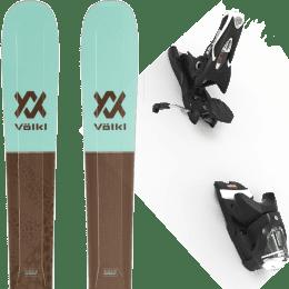 Pack ski alpin VOLKL VOLKL SECRET 102 20 + LOOK SPX 12 GW B90 BLACK 22 - Ekosport