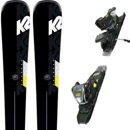K2 CHARGER + M3 11 TCX LIGHT QUIKCLIK BLACK/YELLOW 20