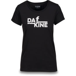 DAKINE WOMEN'S THUNDERBOLT S/S TECH T BLACK 19