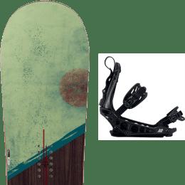 Snowboard ROSSIGNOL ROSSIGNOL TEMPLAR 21 + K2 CINCH TS BLACK 21 - Ekosport