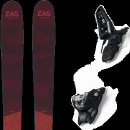 ZAG H96 21 + MARKER SQUIRE 11 ID BLACK 21