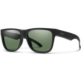 SMITH LOWDOWN 2 MATTE BLACK POLARIZED GRAY GREEN 20