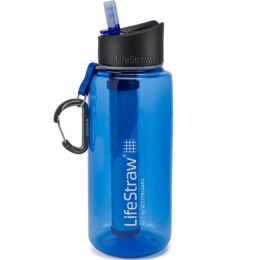 LIFESTRAW GO 2 STAGES 1L BLEU 21