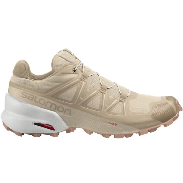 SALOMON Chaussure trail Speedcross 5 W Bleached Sand/white/sirocco Femme Beige taille 3.5