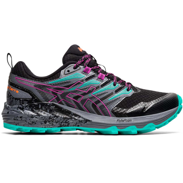 ASICS Chaussure trail Gel Trabuco Terra W Black/digital Grape Femme Noir/Violet/Gris taille 5