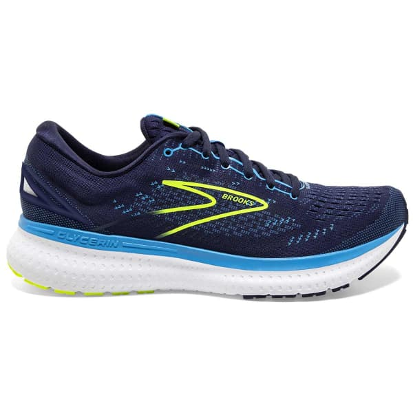 BROOKS Chaussure running Glycerin 19 Navy/blue/nightlife Homme Bleu taille 7