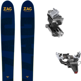 ZAG UBAC 95 21 + DYNAFIT SPEED RADICAL SILVER 21