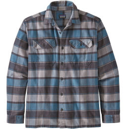 PATAGONIA L/S FJORD FLANNEL SHIRT PIGEON BLUE 21