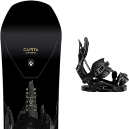 CAPITA SUPER D.O.A. 21 + FLOW FUSE HYBRID BLACK 21