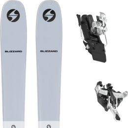 BLIZZARD ZERO G 085 GREY 22 + ATK RAIDER 12 91 MM WHITE 21