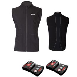 LENZ HEAT VEST 1.0 MEN + LITHIUM PACK RCB 1800 BLK 21