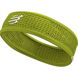 COMPRESSPORT THIN HEADBAND ON/OFF LIME 21