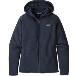 PATAGONIA W'S BETTER SWEATER HOODY NEW NAVY 21