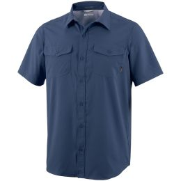 COLUMBIA UTILIZER II SOLID SS SHIRT COLLEGIATE NAVY 21
