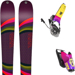 Pack ski alpin K2 K2 MISSCONDUCT + LOOK PIVOT 18 GW B95 FORZA 2.0 - Ekosport