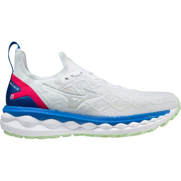 MIZUNO Chaussure running Wave Sky Neo 2 White/white/princessblue Homme Blanc/Bleu taille 8