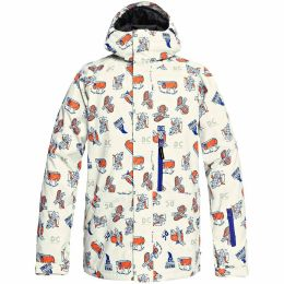 DC SHOES RIPLEY JKT SILVER BIRCH PBJ GRAPHIC 19