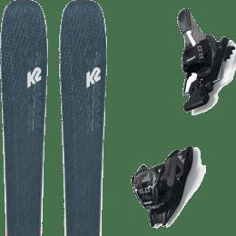 Boutique K2 K2 MINDBENDER 98 TI ALLIANCE 20 + MARKER 11.0 TCX BLACK/ANTHRACITE 20 - Ekosport