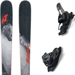 NORDICA ENFORCER 88 21 + MARKER 11.0 TCX BLACK/ANTHRACITE 20