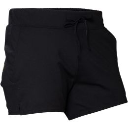 SNAP W WAVE SHORTS BLACK/LIGHT GREEN 21