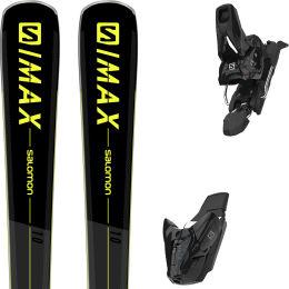 SALOMON S/MAX 10 BLACK/GY/YE+ Z10 GW E L80 BK 21