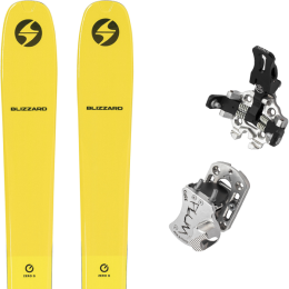 BLIZZARD ZERO G 085 YELLOW 22 + PLUM GUIDE 12 GRIS 20