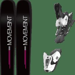 Offre spéciale MOVEMENT MOVEMENT GO 100 WOMEN 19 + SALOMON Z12 B100 WHITE/BLACK 21 - Ekosport