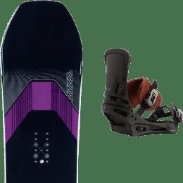 Snowboard K2 K2 MANIFEST 21 + BURTON MALAVITA MARBLED LEATHER 21  - Ekosport
