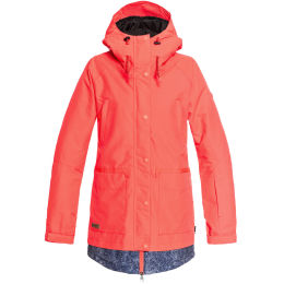 DC SHOES RIJI JKT J FIERY CORAL 19