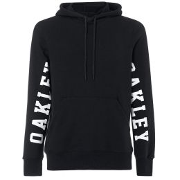 OAKLEY STREET LOGO HOODED FLEECE BLACKOUT 19