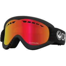 Protection du skieur DRAGON DRAGON DXS ION BLACK/LL RED ION 21 - Ekosport