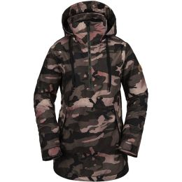 VOLCOM FERN INS GORE P/OVER W FADED ARMY 20