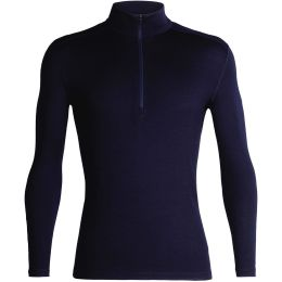 ICEBREAKER 260 TECH LS HALF ZIP MIDNIGHT NAVY 21